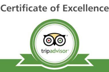 Trip Advisor Certificate 2014