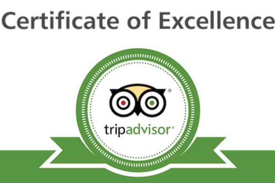 Certyfikat Trip Advisor 2014